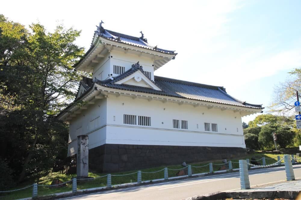 仙台城、大手門脇櫓