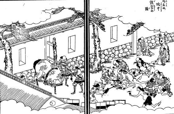 籠城、秀吉の飢え殺し、鳥取城
