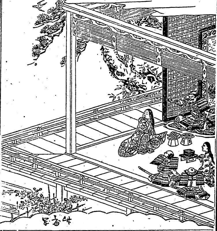 柴田勝家とお市の方の自害