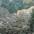 第2木戸門跡の石垣
