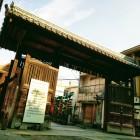 移築門@茨木神社