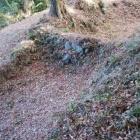 土手和田砦の畝堀跡