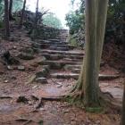 安土城天主へ続く階段