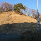 城山団地側の登城口