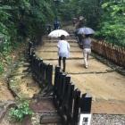 台風🌀来てても関係ない人多数。