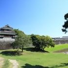 戌亥櫓と堀