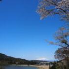 尾浦城から鳥海山