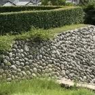 どこを見ても丸い石