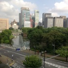 平川門と帯曲輪