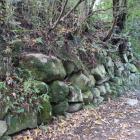 本丸東の石垣
