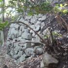 御体塚郭東の石垣