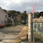 旧水戸街道側の攻城口