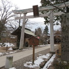 懐古神社の中で