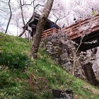桜雲橋と問屋門