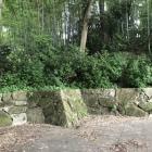 放置気味の城址公園入口