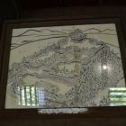 かつての犬山城の図