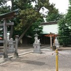 鬼門に位置する氷川神社