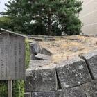 地震で崩れた天守台