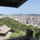 松山城天守閣からの風景1