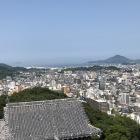 松山城天守閣からの風景4