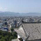 松山城天守閣からの風景3