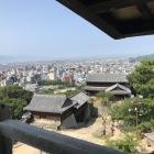 松山城天守閣から風景2