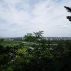 山の神曲輪からの眺め