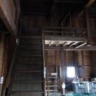 石川櫓内部は総二階ではなく中二階のような作り