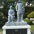 【夏とお城】そして石像!