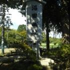【夏とお城】まずは石碑!