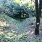 虎口付近の空堀