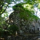 岩坂門跡石垣
