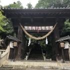 大隅神社神門(津山城移築門)