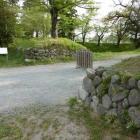中の門と土塁