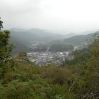 詰ノ段から吉野川が見えます