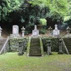 大隣寺の丹羽氏墓所。二本松少年隊と会津・仙台藩士の墓もありました。