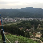 月山富田城からの京羅木山