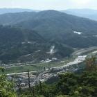 京羅木-勝山城からの月山富田城