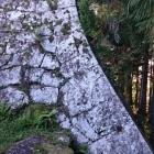 うずみ門左側の石垣