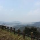 山頂部からの眺望