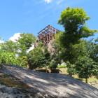 懸造の天守展望台