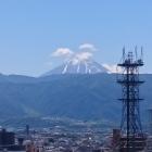 天守台からの富士山
