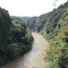 夷隅川…濁流!