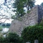 太鼓櫓石垣と水濠