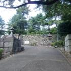 冠木御門跡と桝形