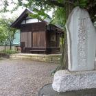 東明寺にある河越夜戦場碑