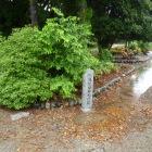 富士見櫓跡のすぐ傍に田曲輪門跡碑