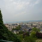 ちょっとだけ日本海が見える