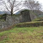 表門脇の石垣