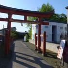 城跡とみられる和徳稲荷神社